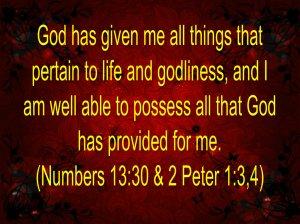 Faith Confession #4 10.31.14