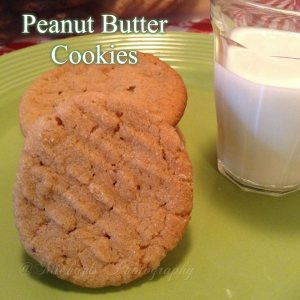 Peanut Butter Cookies 6.25.15