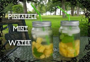 Pineapple Mint Water