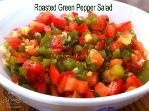 Roasted Red Pepper Salad