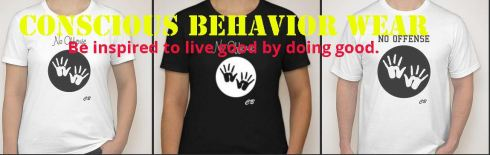 Conscious Behavior Wear Banner