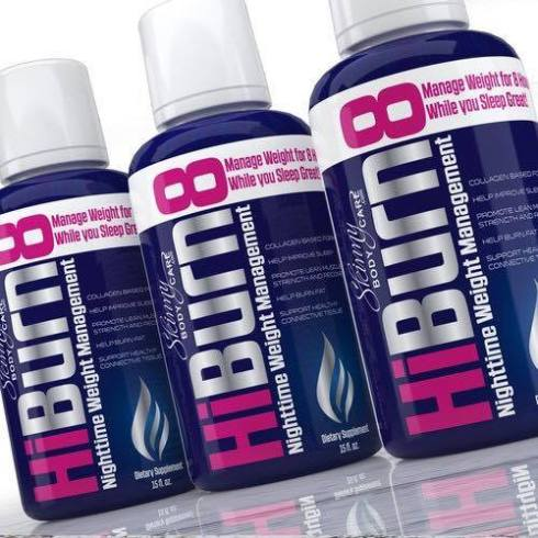 HiBurn8 Bottle