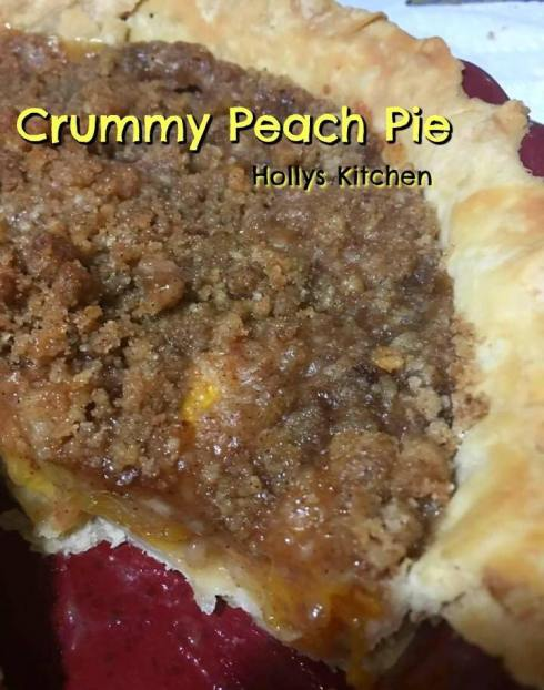 Crummy Peach Pie